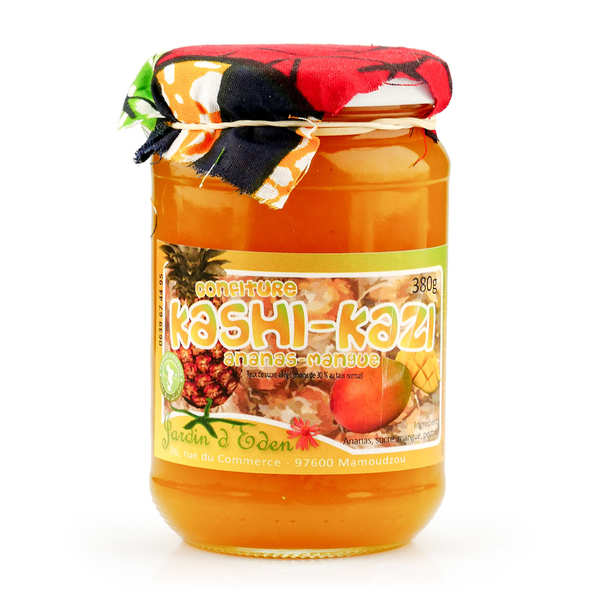 Pienapple and Mango Jam from Mayotte