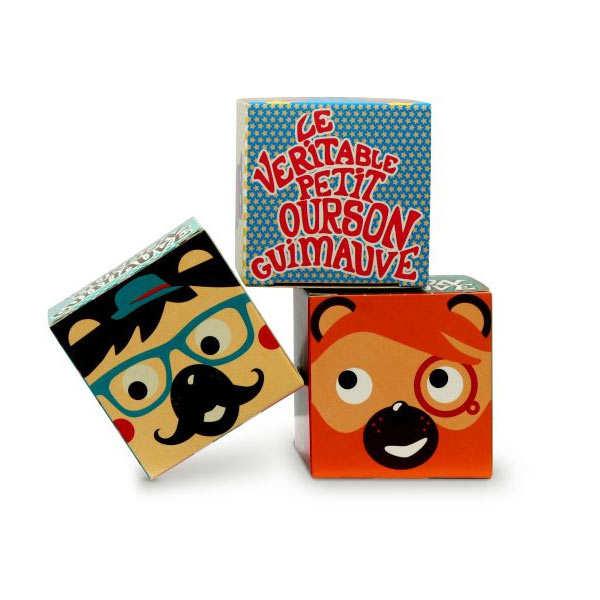 Little Bear marshmallow - set of three boxes