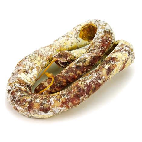 Les 3 pastres - Saucisse sèche d'Aveyron sans nitrites