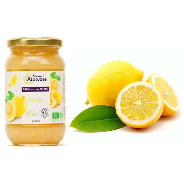 Assortiment citrons primofiore de Sicile et la crème de citron bio