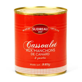 François Sudreau - Cassoulet aux manchons de canard confits