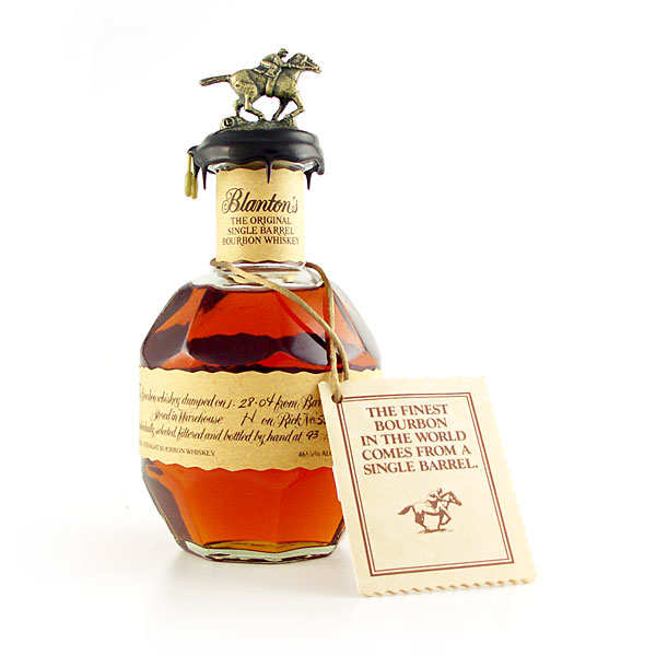 Whisky Blanton's Original single barrel bourbon - 46.5%