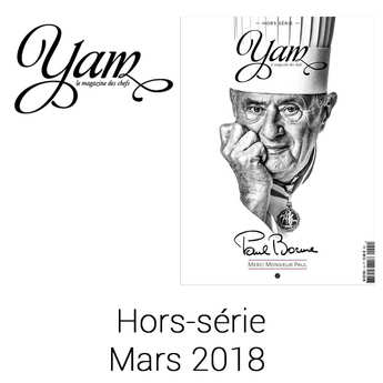Yannick Alléno Magazine - YAM Special Issue - Paul Bocuse