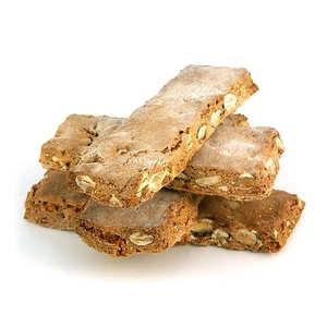 L'atelier du miel et de la châtaigne - Crunchy almond biscuits made of chestnut flour