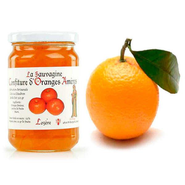 Assortiment oranges calabrese de Sicile et la confiture d'oranges amères