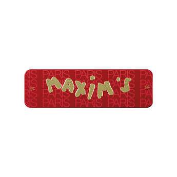 Maxim's de Paris - Red Case by Maxim's