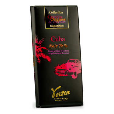 Chocolate bar from Cuba 78% - Voisin
