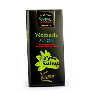 Tablette chocolat noir Vénézuela 75% - Voisin