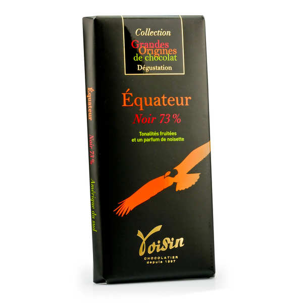 Chocolate bar from Ecuador 73% - Voisin