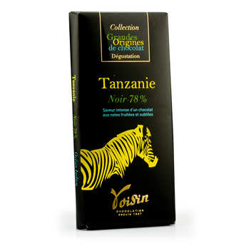 Voisin chocolatier torréfacteur - Chocolate bar from Tanzania 78% - Voisin