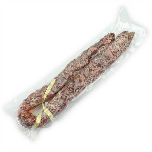 Dry sausage from Cantal without Nitrites