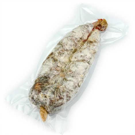 La ferme des cochons gourmands - Dry Saucisson from Cantal without Nitrites