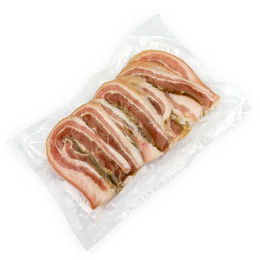 Sliced and Dried Pork Belly from Cantal