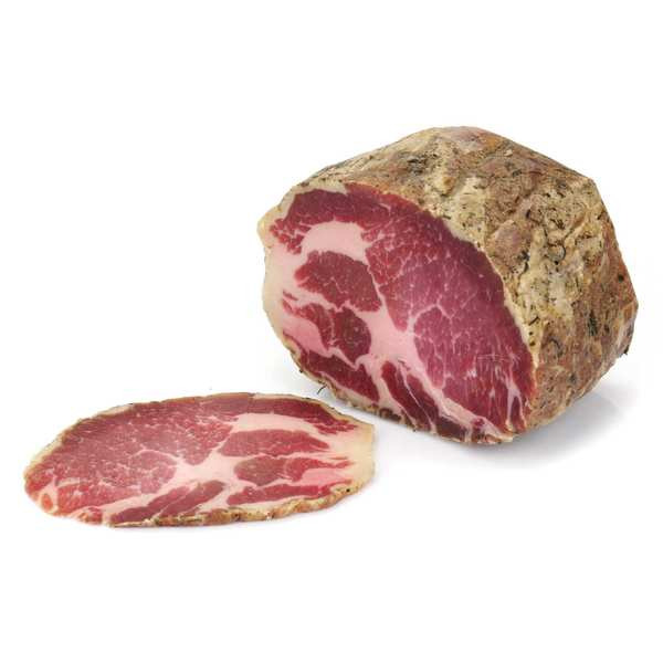 Sliced Coppa from Cantal without Nitrites