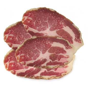 La ferme des cochons gourmands - Coppa fermière tranchée du Cantal sans nitrites