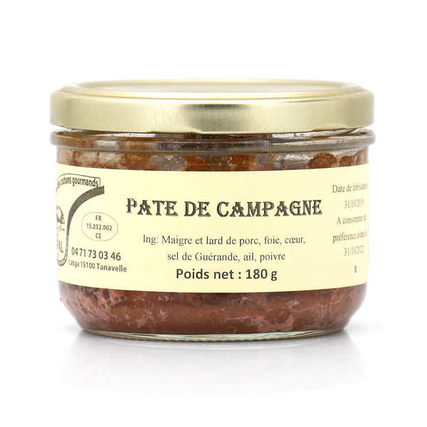 Country-Style Pâté from Cantal