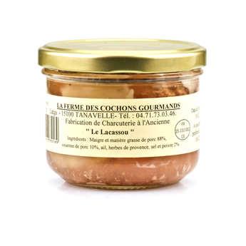 """La ferme des cochons gourmands - Pâté """"Le Lacassou"""" du Cantal"""