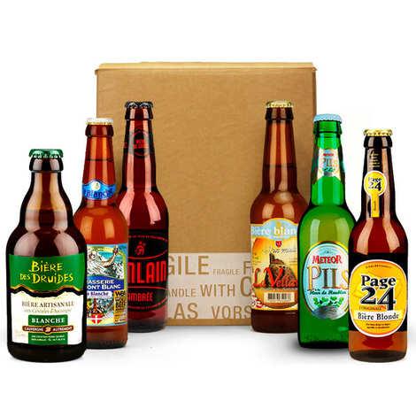 - Box découverte de 6 bières françaises (avril)