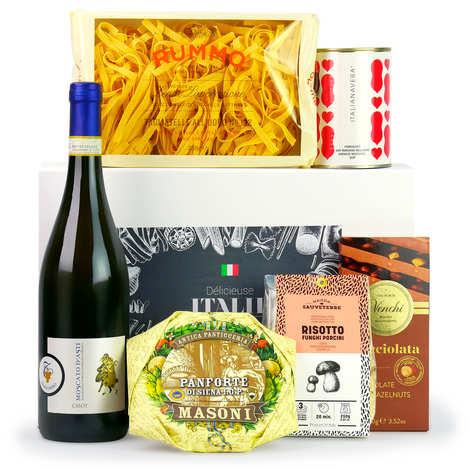 BienManger paniers garnis - Delights of Italy box