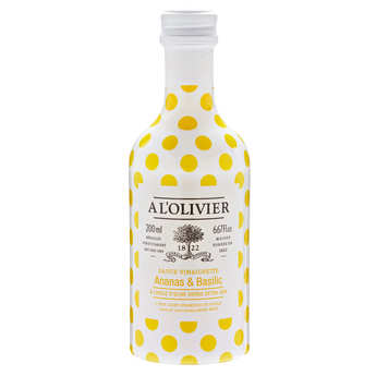 A L'Olivier - Sauce vinaigrette ananas basilic