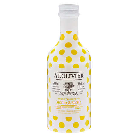 A L'Olivier - Vinaigrette Sauce with Pineapple and Basil