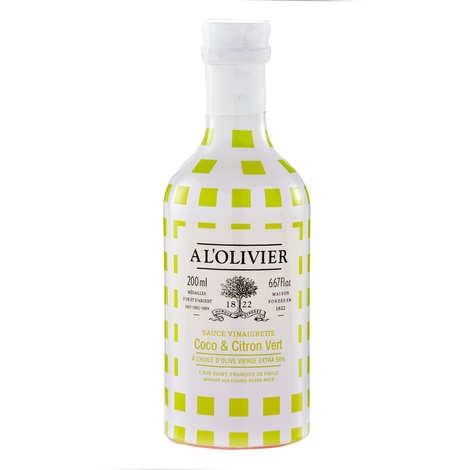 A L'Olivier - Sauce vinaigrette coco citron vert