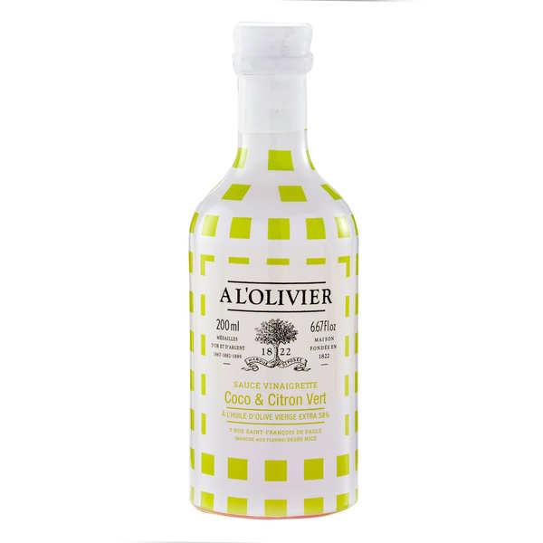 Sauce vinaigrette coco citron vert