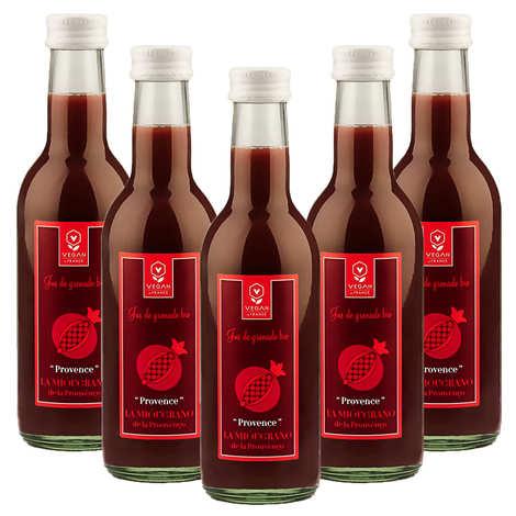 Provence, la mióugrano de la prouvènço - Organic and Vegan Provençal Pomegranate Juice - 5 + 1 Free