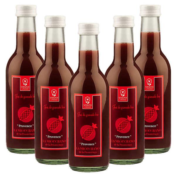 Organic and Vegan Provençal Pomegranate Juice - 5 + 1 Free