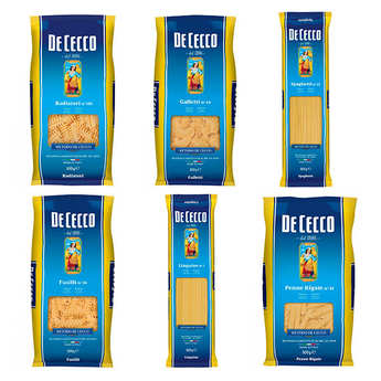 De Cecco - Lot découverte des pâtes italiennes De Cecco