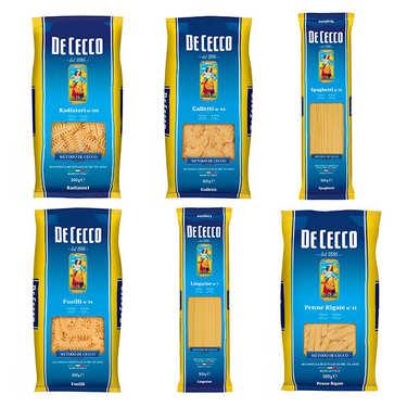 Lot découverte des pâtes italiennes De Cecco