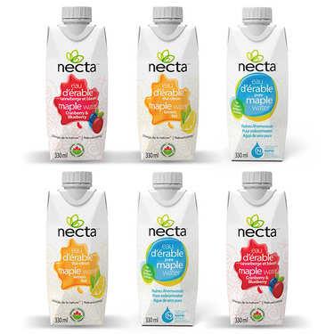 Assortiment d'eau d'érable bio Necta