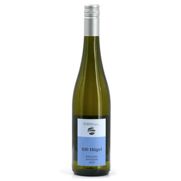 Wittmann 100 Hügel Trocken - Vin blanc bio d'Allemagne