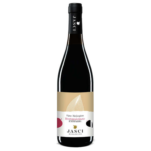 Montepulciano d'Abruzzo DOC - Vin rouge bio d'Italie