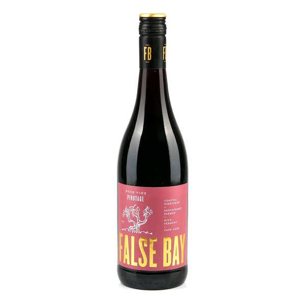 False Bay Pinotage - Vin rouge d'Afrique du Sud