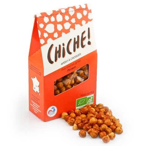 Chiche! - Organic Chikpeas to Crunch - Chili