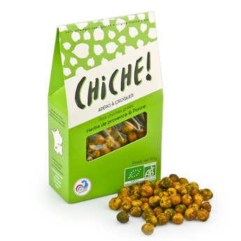 Chiche! - Organic Chikpeas to Crunch - Herbs and Pepper