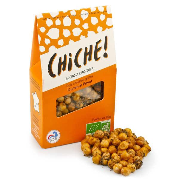 Organic Chikpeas to Crunch - Cumin and Poppy