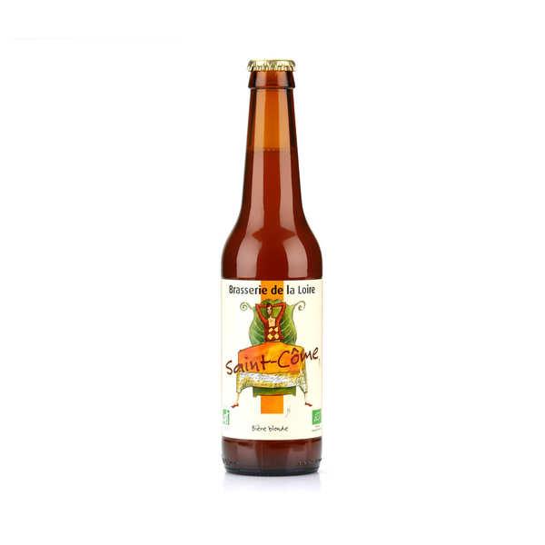 Saint côme - bière blonde bio 5.5% - bouteille 33cl