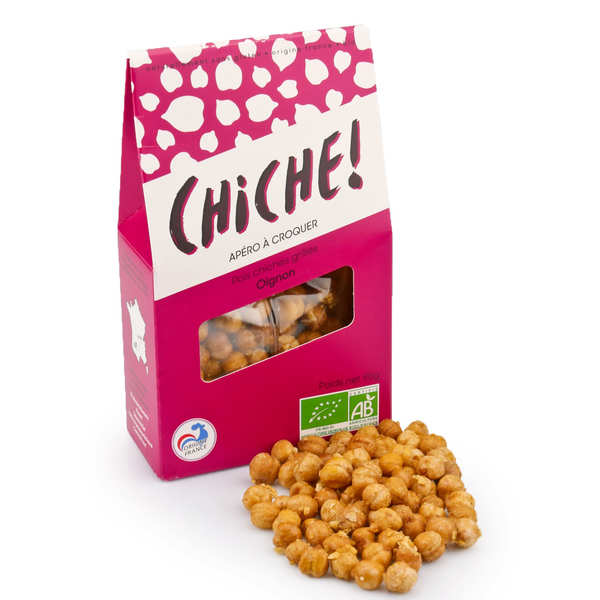 Organic Chikpeas to Crunch - Onion