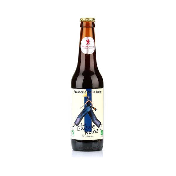 La gueule noire - bière brune bio 6% - bouteille 33cl