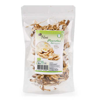 Le jardin de Nina - Organic Dried Oyster Mushrooms