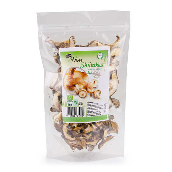 Organic Dried Shiitaké Mushrooms