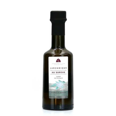 Aromatiques du Larzac - Ferme des Homs - Vinaigre larzamique à la fleur de sureau