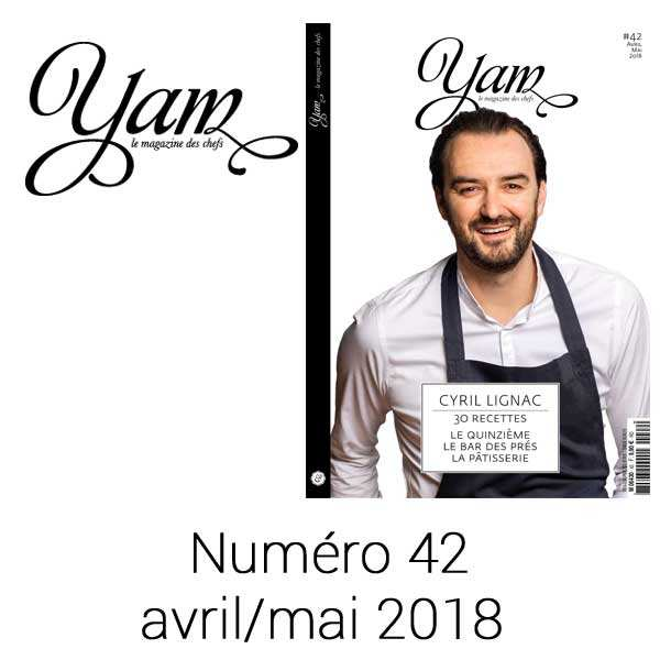 French magazine about cuisine - YAM n°42