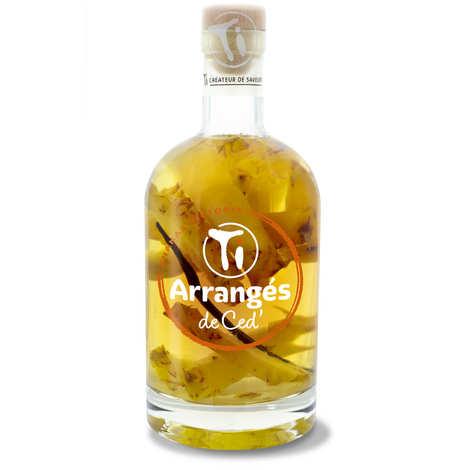 Les rhums de Ced' - Punch au rhum arrangé ananas Victoria 32%