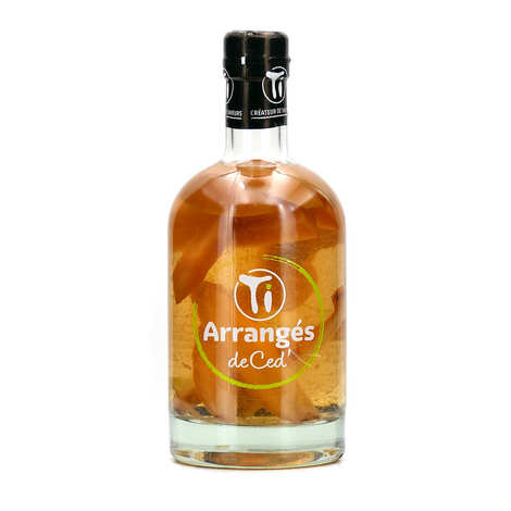 Les rhums de Ced' - Rum Punch with Apple and Ginger 32%