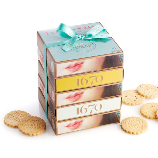 Sablé Shortbread Assortment 'Le 1670'