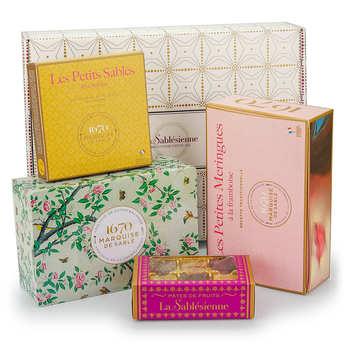 Biscuiterie La Sablésienne - Gourmet 1670 Box - Sweets Assortment