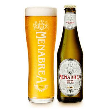 Menabrea Bionda - Bière blonde d'Italie 4.8%